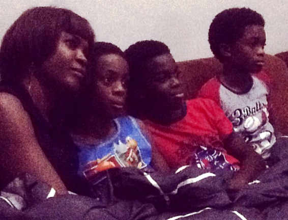 PHOTOS: CHECK OUT Omoni Oboli's 3 Sons
