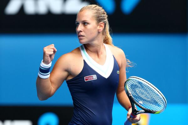 Cibulkova Reaches Her Career Third Grand Slam Last Eight in Melbourne.