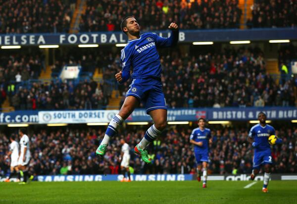 Run Things: Mourinho Says He is in the Right Position to Say if Hazard Will Leave or Not.
