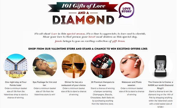 Jumia 101 gifts of love and a diamond ring 1