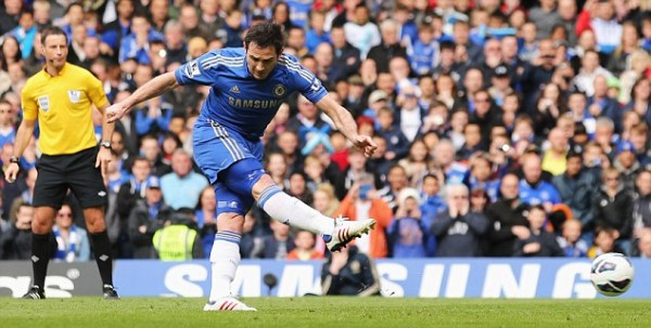 Franck Lampard and Branislav Ivanovic Out for One Month.