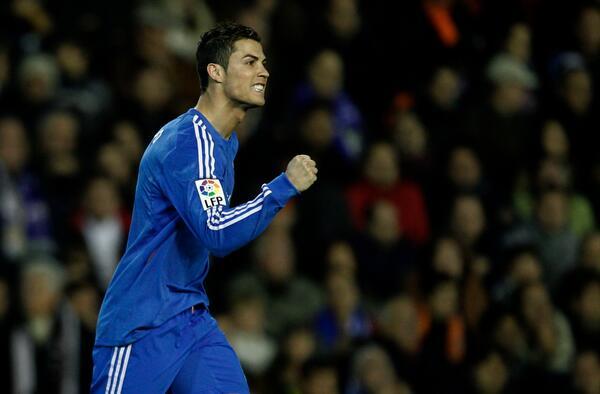 Ronaldo Also Scored in Wednesday's Copa Del Rey Win at Osasuna.