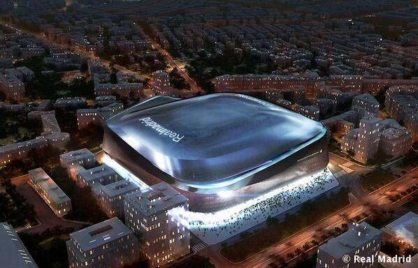 The New Santiago Bernebeu Will be Completed in 2017.