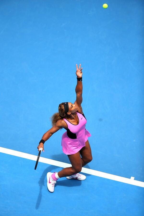 Serena Shocked By Ivanovic at the 2014 Aussie Open.