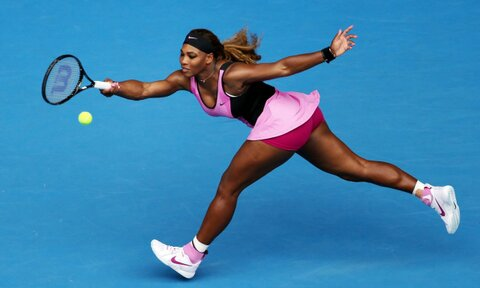 Serena Williams Proceeds Into the Third Round of the 2014 Australian Open.