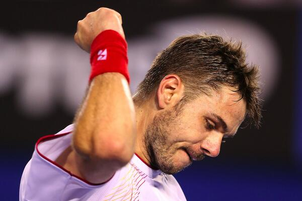 Wawrinka Sends Second Seed Djokovic Out of the 2014  Australian Open.