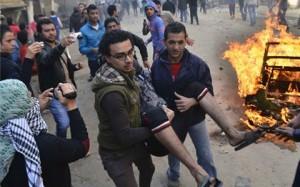 egypt revolution violence