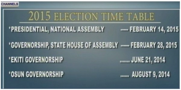election-time-table