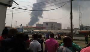 fire at tank farm