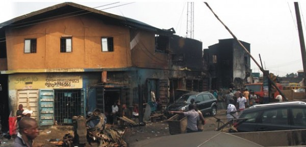 UNTOLD STORY: Prayer House NOT Affected By Lagos Tanker Fire