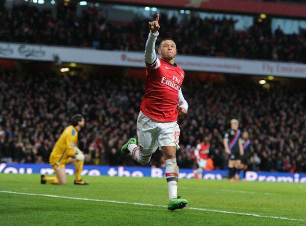 Alex Oxlade-Chamberlain Scores Twice on Premier League Return.