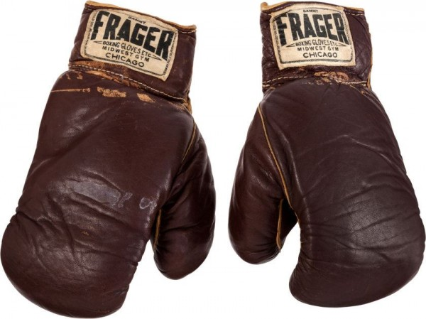 The Gloves Muhammad Ali Won When He Defeated Sonny Liston.