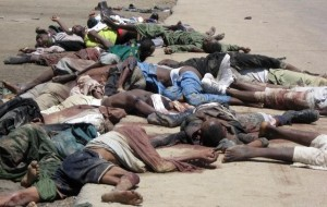 file: victims of Boko Haram attack