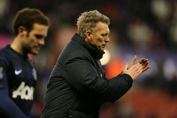 David Moyes Opted for an All Out Attack Formation on Sunday With His Side 1-0 Down After the Break.