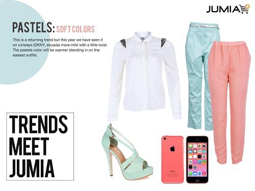 Jumia Trends Pastels