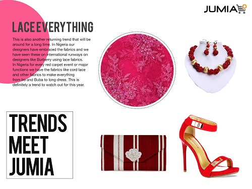 Jumia Trends lace-everything