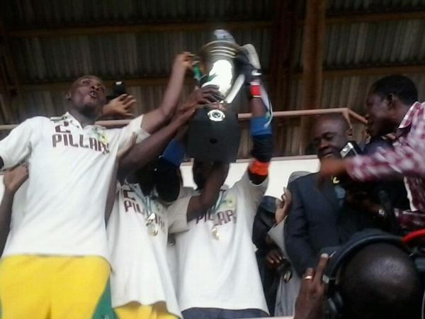 Kano Pillars are Back to Back Winners of the Glo Premier League.