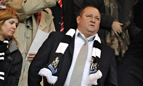 Mike Ashley Won't make Short-Term Replacement for Kinnear.