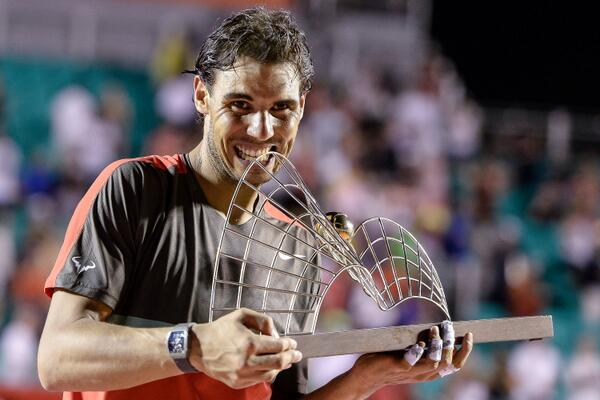 Nadal Wins Rio Open on His Return from Back Injury.