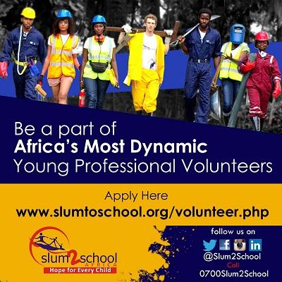 Slum2School Africa.... Volunteer for Change. It Begins With You (2)