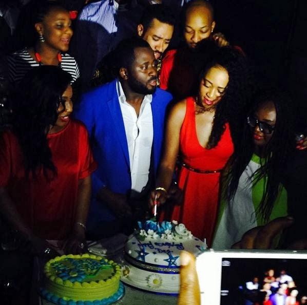 PHOTOS: Check Out Rita Dominic, Rukky Sanda, Majid Michel, Others Having Fun At Desmond Elliot's 36th Birthday Party