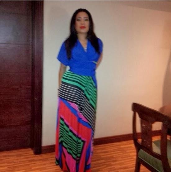 See Monalisa Chinda's Look for Sen. Ita-Giwa's Birthday