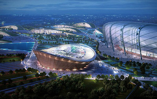 The 60,000 Capacity Stadium Which Will Host the opening Ceremony of the 2015 All-Africa Games Pictured.