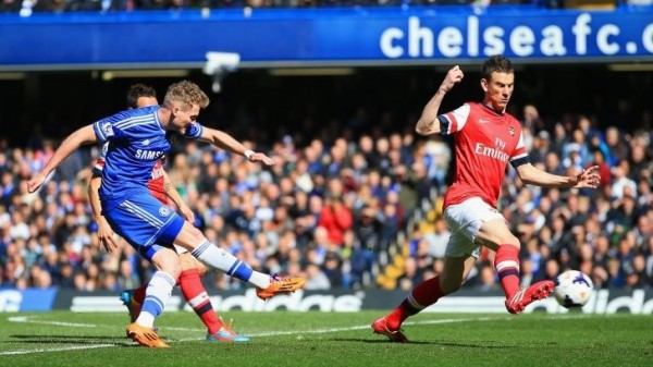 Andre Schurrle Doubled Arsenal's Goal. Getty Image.
