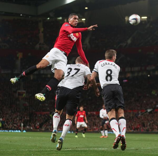 United's Chris Smalling Sidelined for the Last-16 Second Round Tie Against Olympiacos.