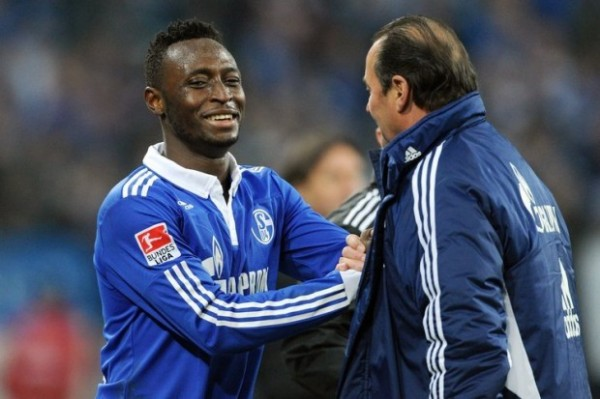 CHinedu Obasi Scored and Assisted for Schalke as They Put Two Goals Past Hertha Berlin on Friday.