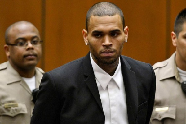 Chris Brown Released From Jail.