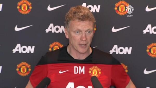 David Moyes Seeks Reaction to Manchester Derby Defeat.