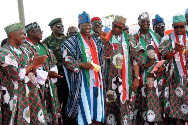 GEJ-MINNA PDP RALLY