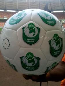 Glo Premier League Match Ball.