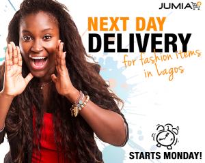 Jumia Nextday delivery