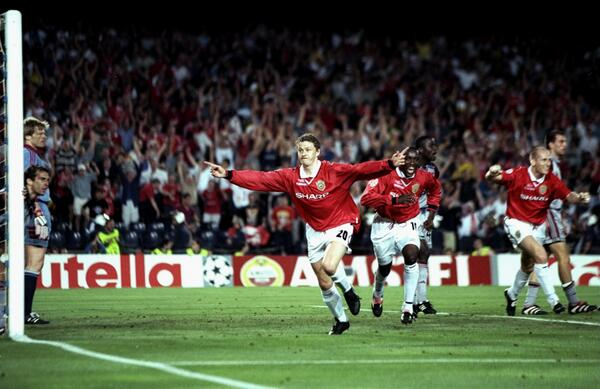 An Injury Time Ole Gunnar Solsjaer WInner Clinched a Second Champions League Trophy for United Against Bayern Fifteen Years Ago.
