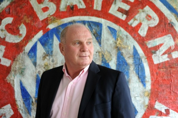 Uli Hoeness in a Munich Court Over Tax Evasion Accusation.
