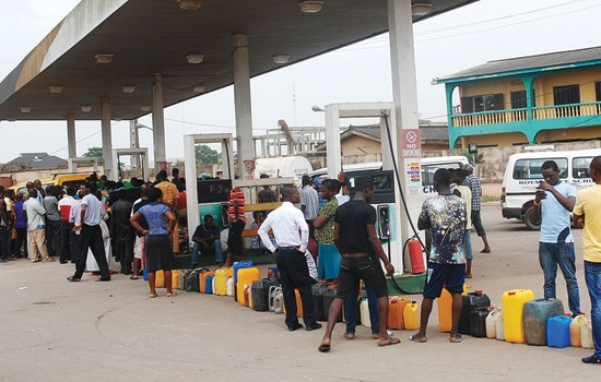 fuel scarcity