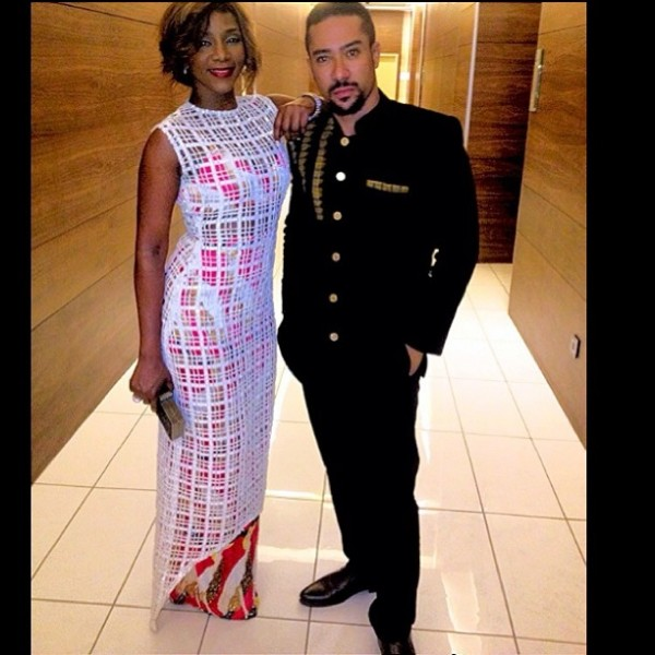 COUPLE ALERT? READ Actor, Majid Michel's Lovely Message To Genevieve Nnaji