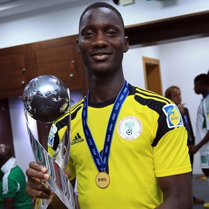 Dele Alampasu Conceded Five Goals at the 2-013 Fifa U-17 World Cup in the UAE.