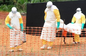 Ebola death