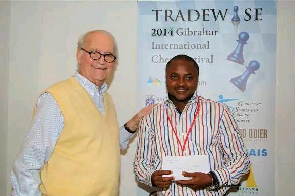 One of the Invitees Oyeyemi John Fawole Shared First Place at the 2014 Gibraltar International Chess Festival.