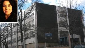 Riverdale Kingsbridge Academy in The Bronx, NYC.  Carisa Gaylardo (inset)