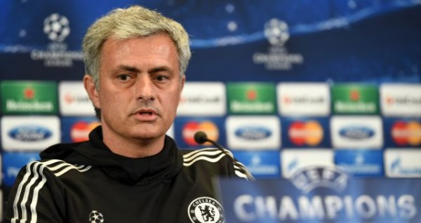 Jose Mourinho Refused to Comment on Atletico Madrid During His Press-Briefing at the Pitch Side of the Vicente Calderon.