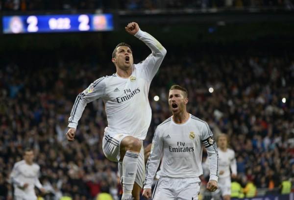 Ronaldo Was Among the Scores as Ten-Man Los Blancos Lost 4-3 to Barcelona in Last Month's El-Clasico.