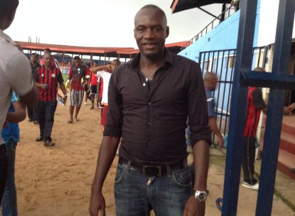 Sani Kaita Pictured at the Enyimba Stadium During Midweek's Glo Premier League 3-0 Win Over Lobi Stars. Image Credit: LMC.