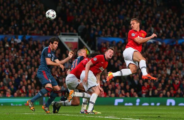 Nemanja Vidic's Opener Put Manchester United Ahead.