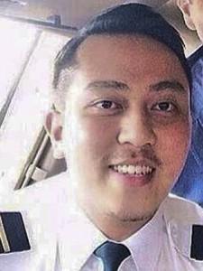 co-pilot Fariq Abdul Hamid.