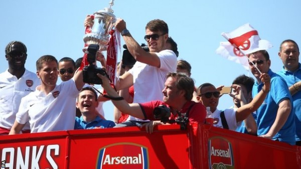Arsenal Breaks The Ice With FA Cup Win After 9 years