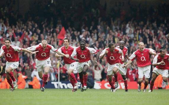 Gunners Class of the 04/05 Season: Arsenal Aim to Lift Their First Silverware Since the 2005 FA Cup.